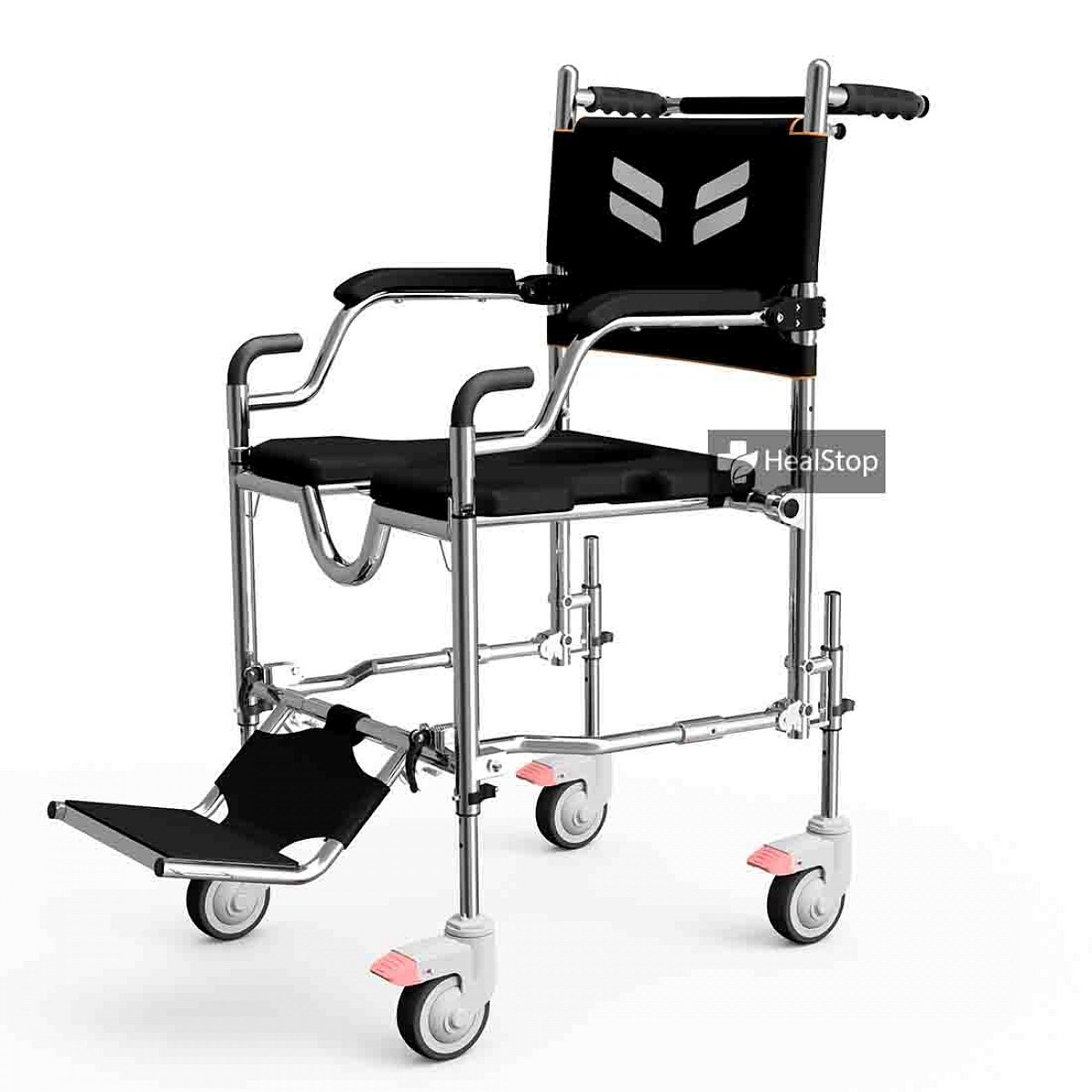 FRIDO GO Self Propelled Commode Wheelchair