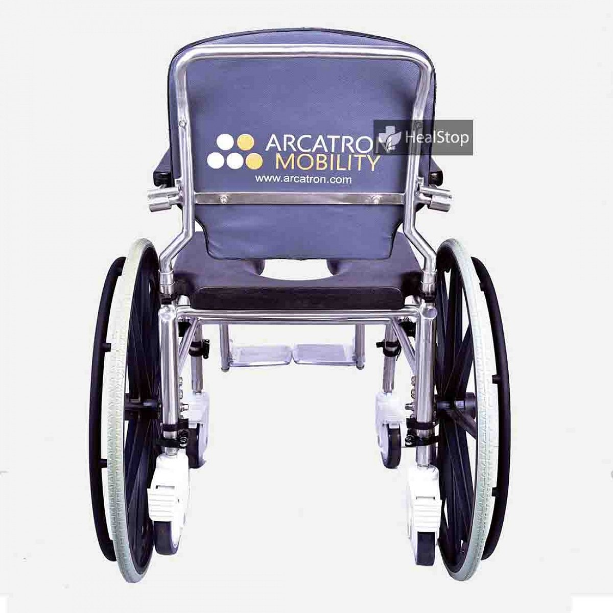 SSS100 Self Propelled Commode Wheelchair