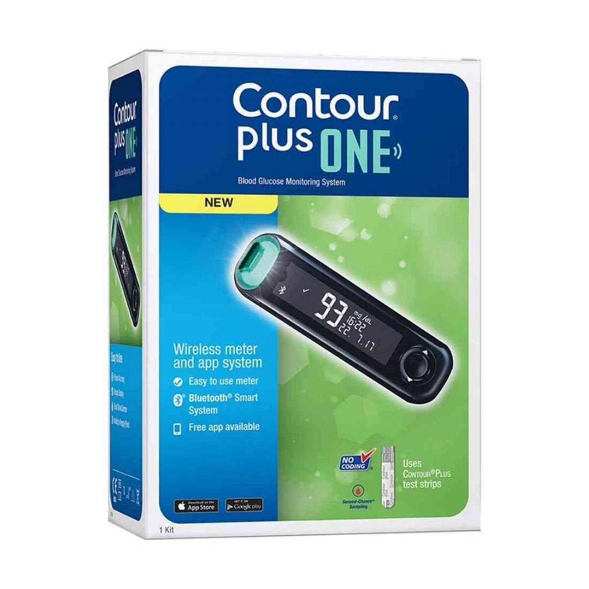 Contour Plus One Meter With 25 s Pack