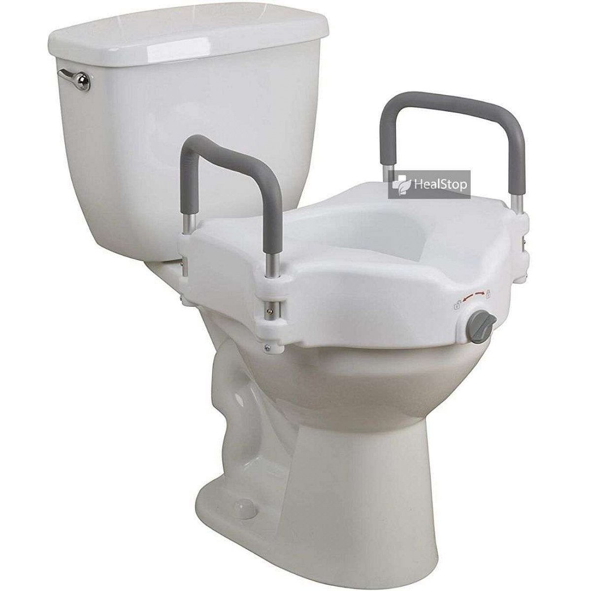 Commode Seat 5 Inches With Removable Arm Rest