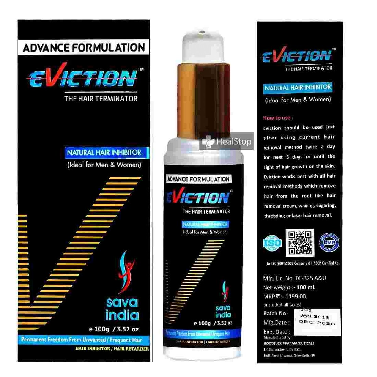 Eviction Natural Hair Inhibitor