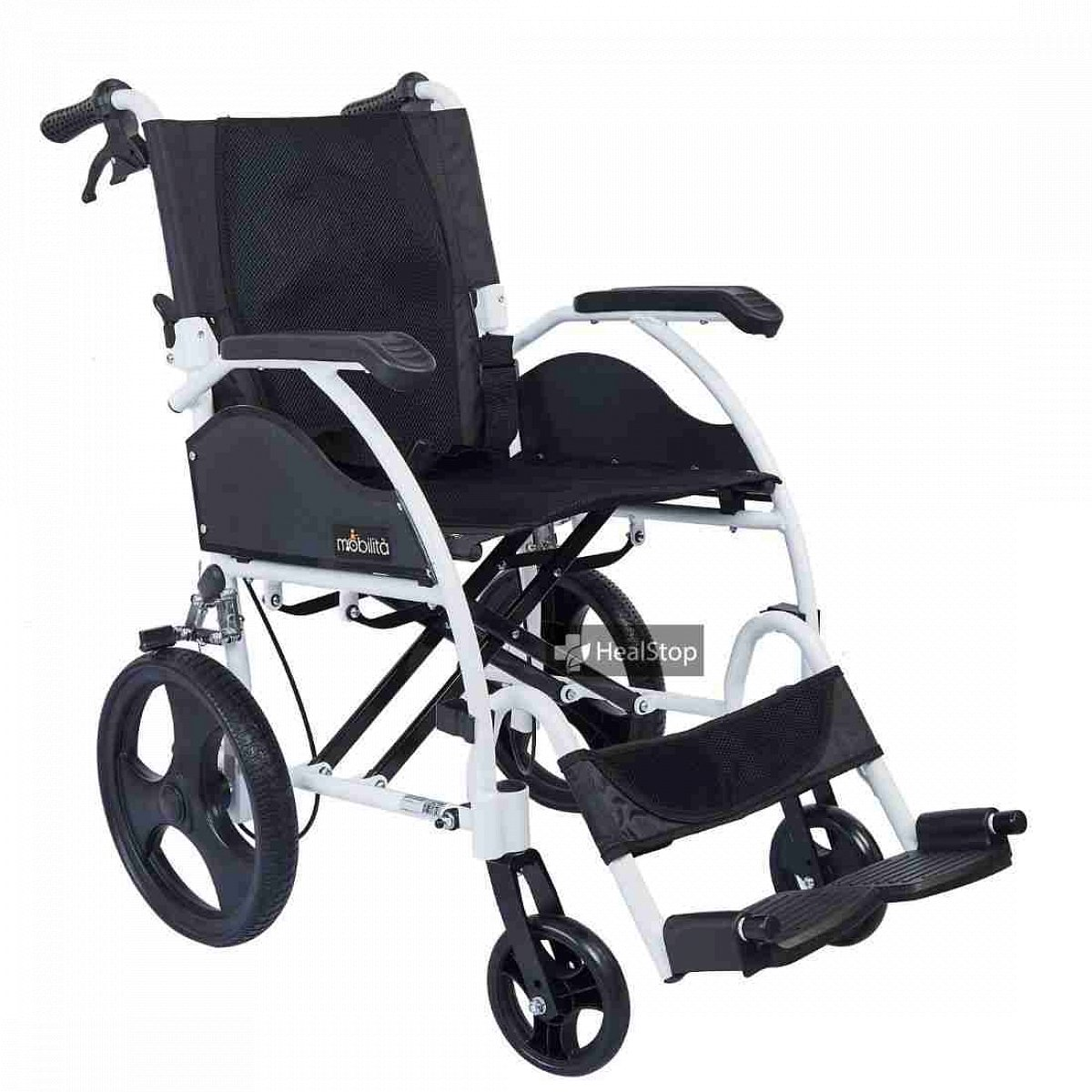 12 Inches Wheelchair - M605MW - Metallic White