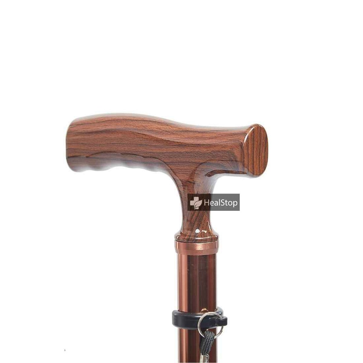 Straight Shank Handle Cane M709 (Champagne Gold)