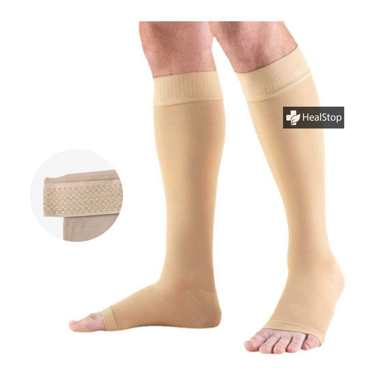 Medical Compression Stocking Below Knee (Premium)