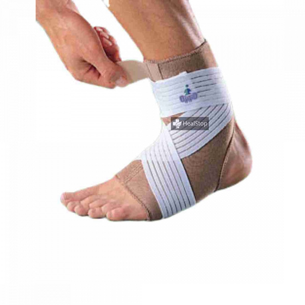 Ankle Support With Strap Medium