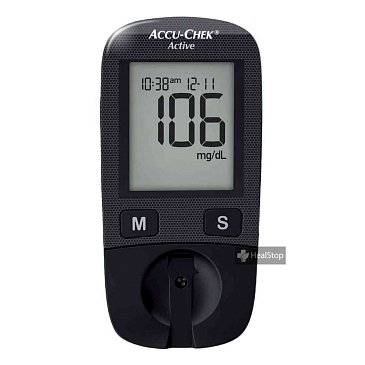 Glucometer Active With 10 s Strips