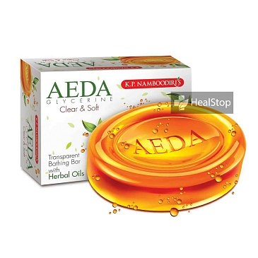 AEDA Glycerine Bathing Bar -Clear & Soft- 75gm