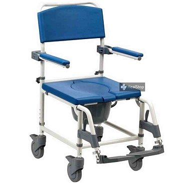 Shower/Commode Chair Aston ALU CWC003