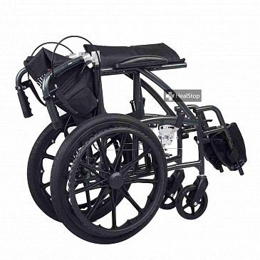 18 Inches Deluxe Wheelchair - M603MG - Metallic Graphite
