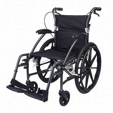 22 Inches Deluxe Wheelchair - M604MG - Metallic Graphite