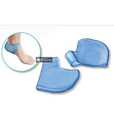 Silicone Gel Heel Socks For Dry Foot Cracked