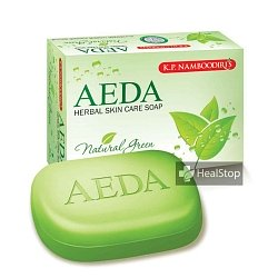 AEDA Herbal Soap -Thulsi & Neem- 75gm (Pack of 4)