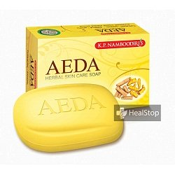 AEDA Turmeric Soap- 75gm (Pack of 4)