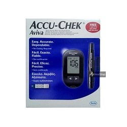 Glucometer Aviva With 10 s Strips