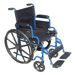 Wheelchair Blue Streak 1 Inch BLS18FBD-SF