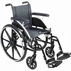 Wheelchair Viper Ped 12 L412DDA-ELR