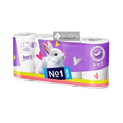BELLA NO1 KARO TOILET PAPER WHITE