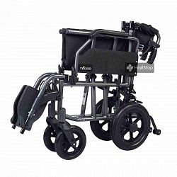12 Inches  Premium Wheelchair - M601MG - Metallic Graphite