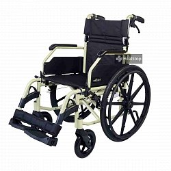 24 Inches  Premium Wheelchair - M602MC - Metalic Champagne