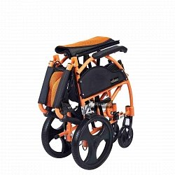 12 Inches Wheelchair - M605MO - Metallic Orange
