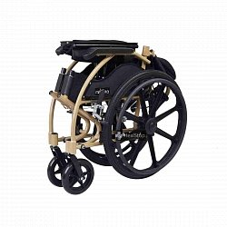 22 Inches Wheelchair - M606MC - Metallic Champagne