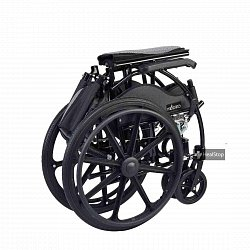 22 Inches Wheelchair - M606MG - Metallic Graphite