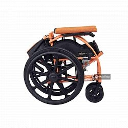 22 Inches Wheelchair - M606MO - Metallic Orange