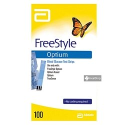 Optium Test Strips
