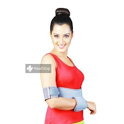 Shoulder Immobilizer (Elastic) Grey