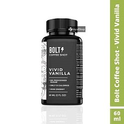 Bolt Coffee Shot - Vivid Vanilla (Pack of 6)